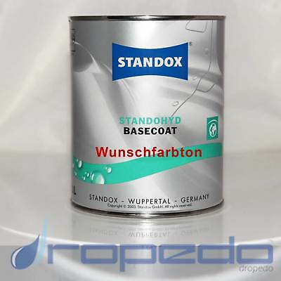 All Colours Car Paint Base Coat Water Based Car Paint Standox Standohyd 1 Litre