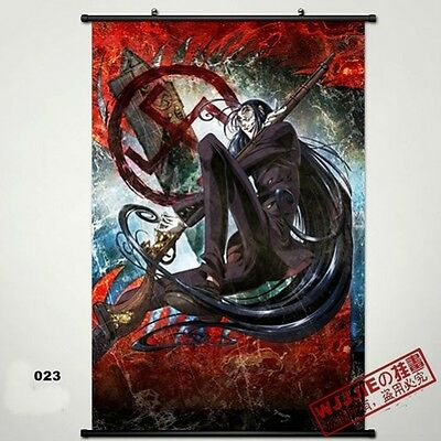 Hellsing Wall Poster Scroll Home Fabric Decor Japanese Anime Cosplay 1