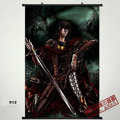 Hellsing Wall Poster Scroll Home Fabric Decor Japanese Anime Cosplay 12