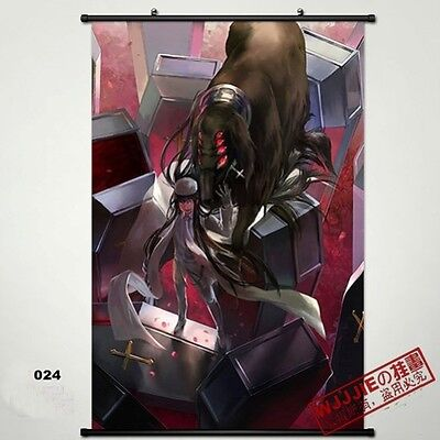 Hellsing Wall Poster Scroll Home Fabric Decor Japanese Anime Cosplay 24