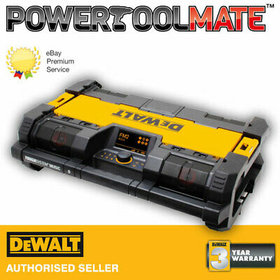 Dewalt DWST1-75663 18v Toughsystem DAB Radio, Bluetooth Music & Charger