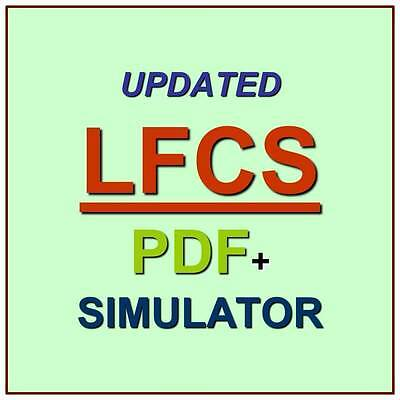Linux Foundation Certified System Administrator Exam LFCS Test QA PDF+Simulator