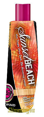 Tan Incorporated SUNSET BEACH Hot Tingle Ultra Dark 35x Bronzer - Fast Dispatch