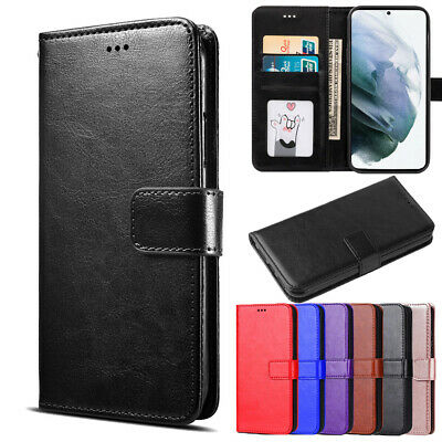 Galaxy S5 Case / S5 mini Case - Genuine Leather Wallet Flip Cover for Samsung