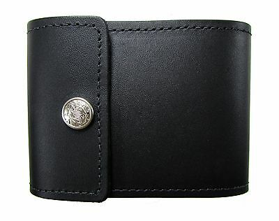 New Mens or Womens Leather End Stub Checkbook Cover USA Made