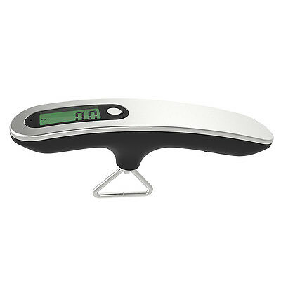 50kg Portable Digital Luggage Scale Precise Travel Fishing Scale W/ Hook Strap