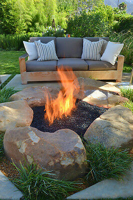 "Fr12K++ 12"" Fire Ring Ss316 Deluxe Kit For Pre Plumbed Nat Gas / Lp Fire Pit Kit"