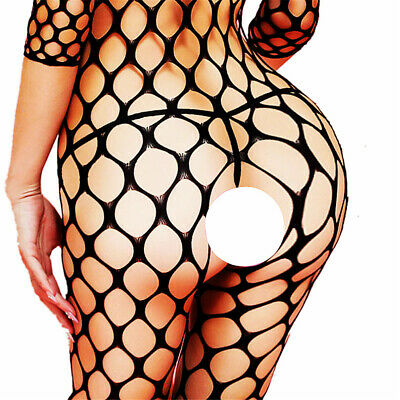Women Lingerie Fishnet Body New Bodystocking Stocking Sleepwear Babydoll Chemise
