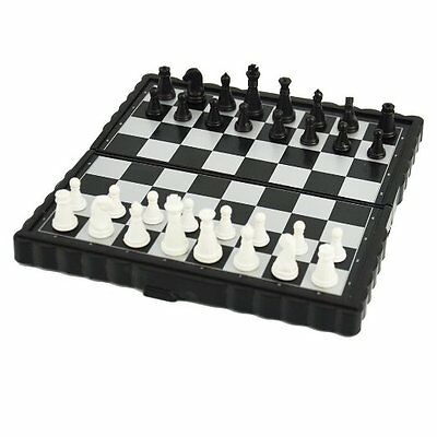 NEW Mini Magnetic Folding Chess Board Game Set/High quality Chess uk fast disp