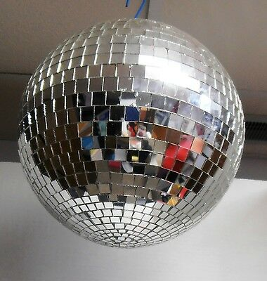 1970's Mirrored Party Disco Ball - Ready to Hang - Free Hanging