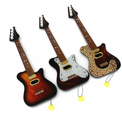 Kids 4 String Acoustic Guitar Simulation Music Instrument Educational Toy Gift