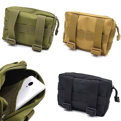 Rugged Military Tactical Tool Change Pouch Bag Molle Army Utility Outdoor 1 Pc