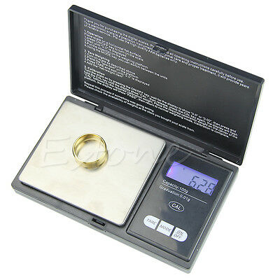 Mini 100g/0.01 Digital Jewelry Scale Dual Weight Electronic Pocket LCD