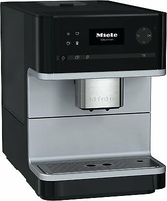 Miele CM6100 Freestanding Bean to Cup Coffee Machine - Obsidian Black