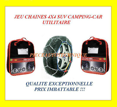 Chaines A Neige Chaine Neige Hiver A Croisillons 16Mm Dacia Duster 215 65 R16