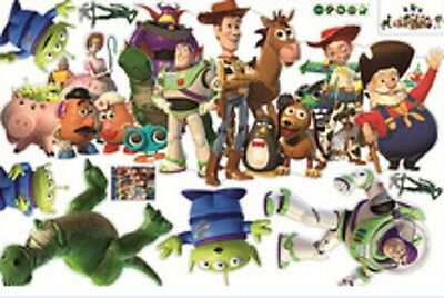 Toy Story 3 Wall Sticker Removable PVC Art Decals Kids Nursery Room Decorations