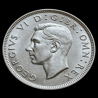 1937 George VI Silver Two Shilling Coin / Florin – G/EF #2