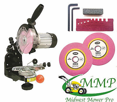 NEW Electric 110V Chainsaw CHAIN GRINDER SHARPENER w Grinding Wheels[LAS][47227]