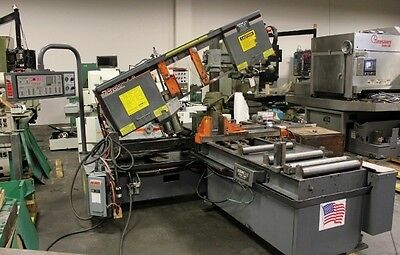 "16"" x 22"" HEM Cyclone A-C Automatic Horizontal Miter Band Saw (New 2008)"