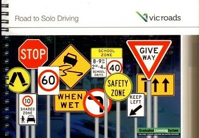 Vic Roads Learner's Road To Solo Driving November 2017 Latest Edition
