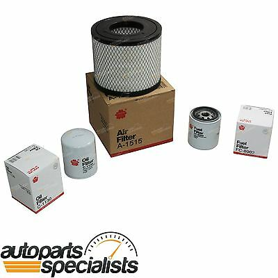 Oil - Air - Fuel Filter Kit fit Holden Rodeo RA 4cyl 4JH1TC 3.0L 2003 to 2006