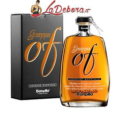 Grappa Bonollo Of Di Amarone Barrique Invecchiata 70 Cl Con Astuccio Regalo 42°