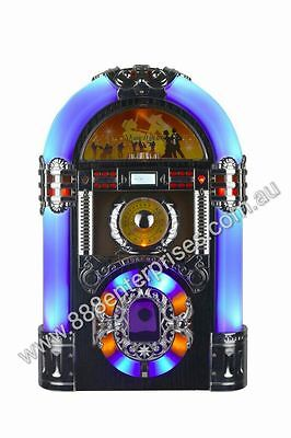 TABLETOP JUKEBOX  Bluetooth, CD Player, AM/FM Radio, USB & SD Slot, Auxillary in