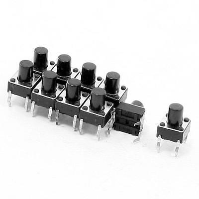 20 X Tactile Push Button Switch Momentary Tact 6x6xH8mm 4-pin DIP Through-Hole