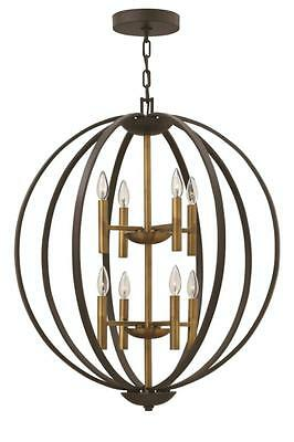 Hinkley Lighting 3468SB Chandelier the euclid collection Spanish Bronze