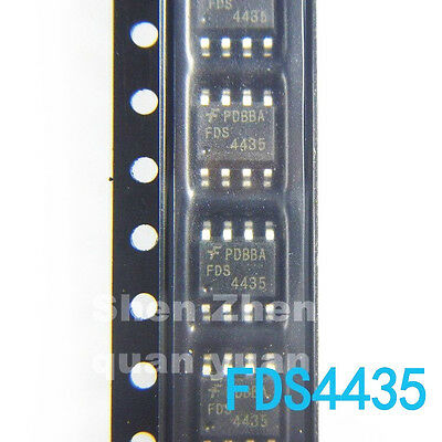 20PCS FDS4435BZ SOIC-8 30 Volt P-Channel PowerTrench MOSFET