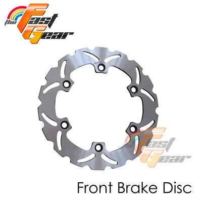 Solid Front Brake Disc Rotor x1 Fit Honda Silver Wing600 FJS600 Non ABS 01-06