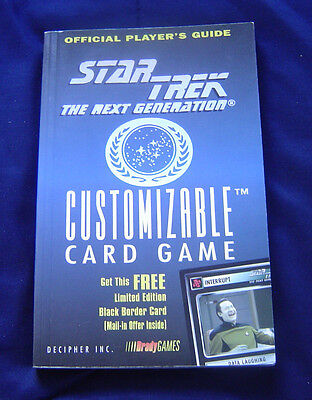 Star Trek The Next Generation Customizable Card Game Book Only