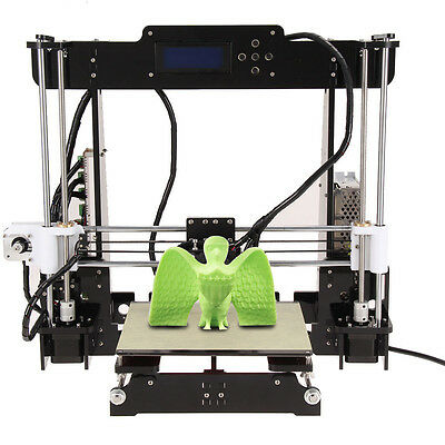 3D Printer Upgrated for Home Use Print Precision Reprap Prusa i3 DIY with LCD