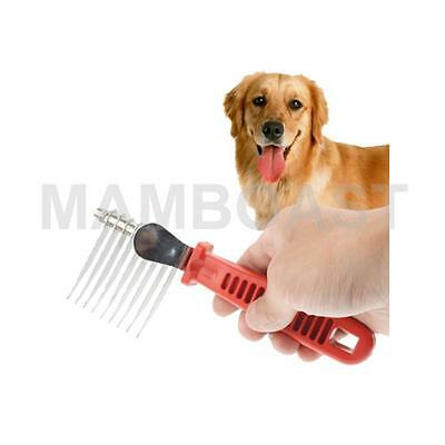Pet Hair Removal Comb for Long & Short-haired Dog & Cats