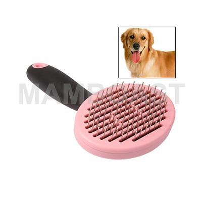 Handy Dog Grooming Hair Brush Self-Cleaning Pet Comb with Automatic Hair-Release