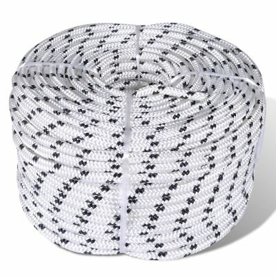 New Polyester Braided Rope Coil Boat Line 6/8/10/12/14 mm x 50m Selectable