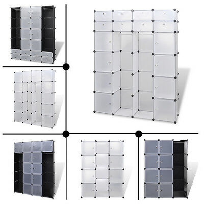 NEW Modular Cabinet Home Storage Solution Compartments Colours Sizes Selectable