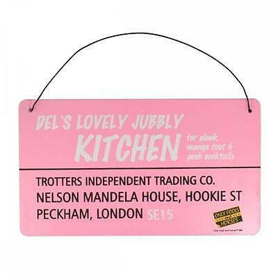Only Fools and Horses Tin Plaque Dels Kitchen - DISCOUNTED