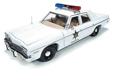 Dukes of Hazzard 1/18 Scale Auto World 1975 Dodge Monaco Police Car