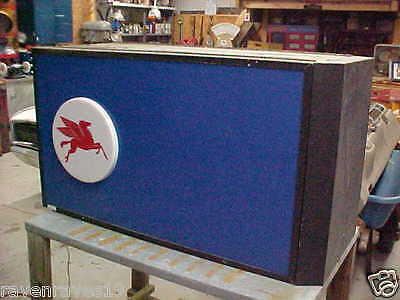Mobil Gas Station Topper Sign Pegasus Mancave Mobil Oil Gas From 1995