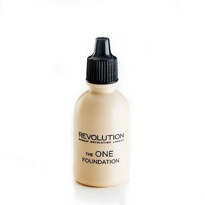 MAKEUP REVOLUTION The One WHITE or YELLOW Pigment Adjust Your Foundation Shade!