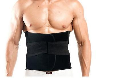 Abdomen Binder Belly Fat Burning Gym Exercise Tummy Shaper Wrap Brace Girdle