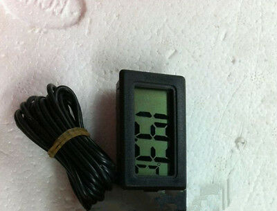 Monitor Hygrometer Temperature Gauge Humidity Meter Digital LCD Mini Thermometer