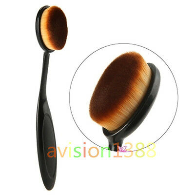 Cosmetic Make Up Brush Foundation Cream Powder Blush Concealer Toothbrush Oval