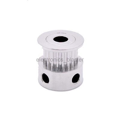 MXL 20T Tooth 5mm 8mm Inner hole Gear Pulley Aluminum Alloy for 6mm Timing Belt