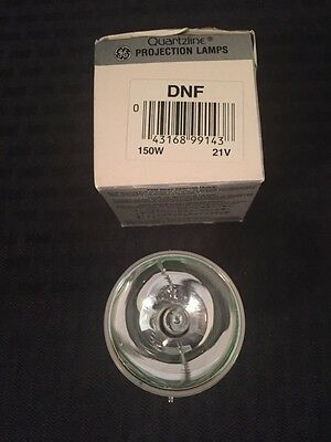 NEW GENERAL ELECTRIC Incandescent Projection Lamp Bulb DNF 150W 21V