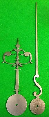 Antique Clock Hands from original design (Early Longcase) LC25 *Made in England*