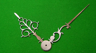 Antique clock hands from original design (Longcase clock) LC2 *Made in England*