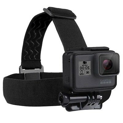 Gopro Hero 5 4 Session 3+ 3 2 Puluz Headstrap Mount Adjustable Head Band Elastic