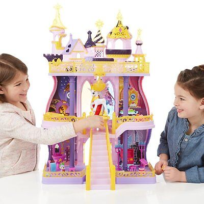 My Little Pony Cutie Mark Magic Canterlot Castle Playset Girl Toy Gift